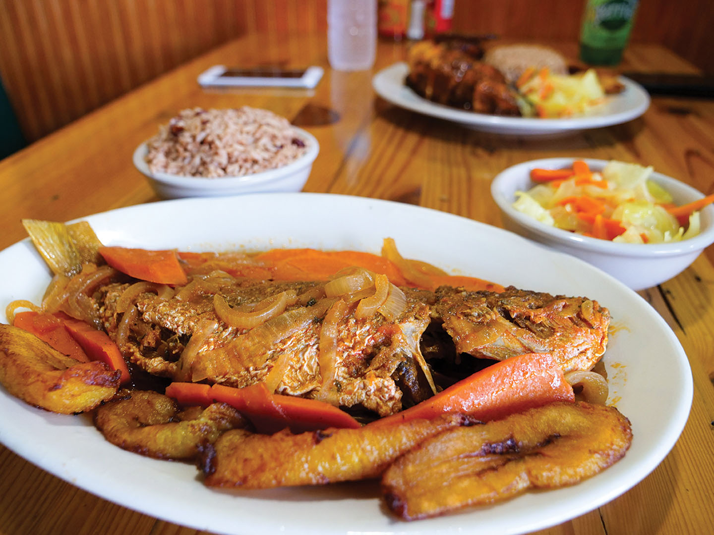 The Hummingbird Jerk House Serves Authentic Jamaican Cuisine!