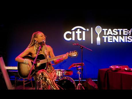 Jamaican Food, Music A Winning Collab At Taste Of Tennis